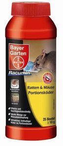 Bayer Garten Ratten- & Mäuse-Portionsköder - Gegen Kleintiere