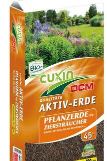 Aktiv-Erde als Pflanzerde für Ziersträucher - cuxin DCM ®