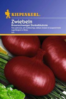 Zwiebeln 'Braunschweiger Dunkelblutrote' - Kiepenkerl ®
