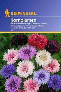 Centaurea Kornblume gefüllte Mischung - Kiepenkerl ®