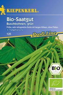 Bio-Buschbohne, grün - Kiepenkerl ®