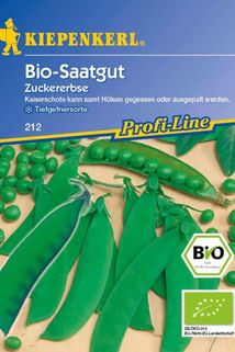 Bio-Zuckererbse - Kiepenkerl ®