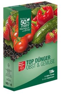 TOP Dünger Obst & Gemüse - Bayer Garten