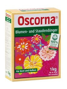 Blumen- und Staudendünger Oscorna - Oscorna Naturdünger Blumen- und Stauden