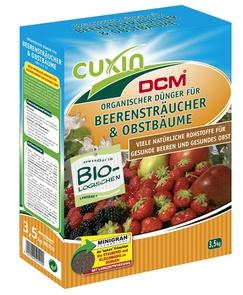 Organischer Dünger für Beerensträucher und Obstbäume - cuxin DCM ®