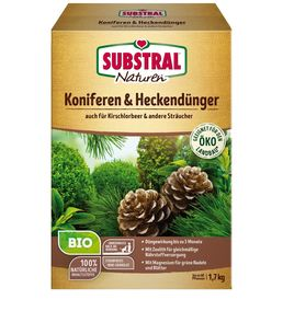 Naturen ® Bio Koniferen- und Heckendünger - Substral Naturen