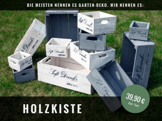Holzkisten-Set